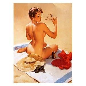 calendar art 1950s   art