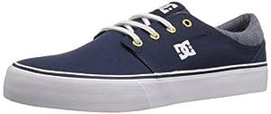 DC Trase TX SE Skate Shoe, Navy, 11 M US