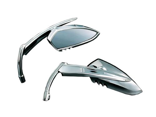 Kuryakyn Scythetm Mirrors With Classic Blade Stem For Harley Davidson Models