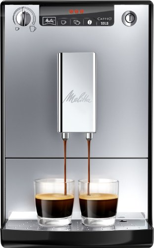 Melitta E 950-103 Kaffeevollautomat Caffeo Solo mit Vorbrühfunktion, silber/schwarz thumbnail