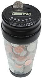 Totes Mens Auto Coin Jar from Tandy - Totes