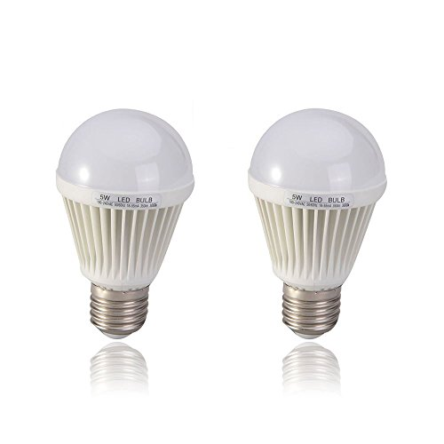 Arlybaba 2Pcs E27 7W 350Lm Warm White Energy Saving Led Light Bulbs Crystal Capsule Spotlight Lamps