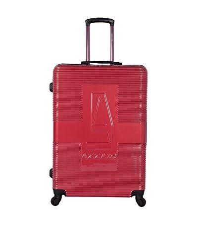 Azzaro Trolley rígido Vny Rojo 65 cm