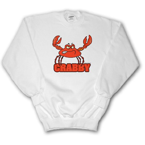 Funny Crabby Red Crab - Youth SweatShirt Large(14-16)
