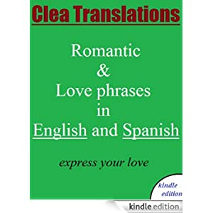 english to spanish romantic and love phrases ebook clea