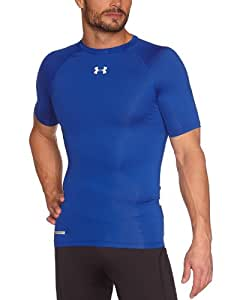 Under Armour HG Sonic T-Shirt de compression manches courtes Homme Royal/White FR : L (Taille Fabricant : LG)