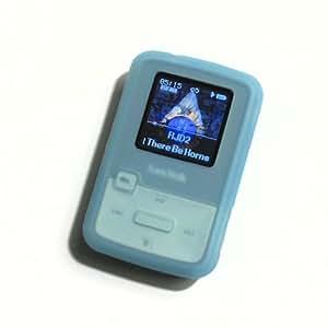 DTS/AC Silikon-Hülle f. SanDisk Sansa Clip ZIP (blau)