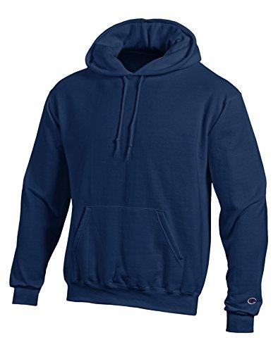 Champion EcoTM Fleece Pullover Men's Hoodie, S-Navy