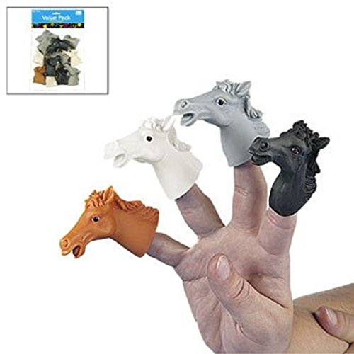 Horse Finger Puppets (12 Pack) Vacation Bible School & Toys & Games