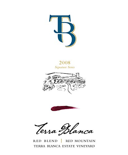 2008 Terra Blanca Signature Series Red Mountain Red Blend 750 Ml