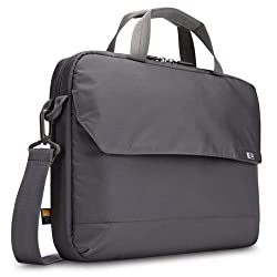 Case Logic Mla-114 14.1-Inch Laptop / Macbook Air / Pro Retina Display And Ipad Attache (Gray)