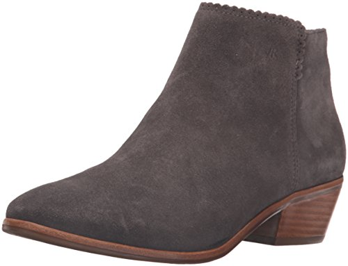 Jack Rogers Women's Bailee Suede Ankle Bootie, Dark Grey, 7.5 M US (Grey Jack compare prices)