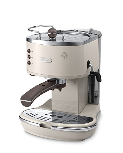 BESTSELLER #1 De'Longhi Icona Vintage Traditional Pump Espresso Coffee Machine ECOV311.BG best buy price Review uk