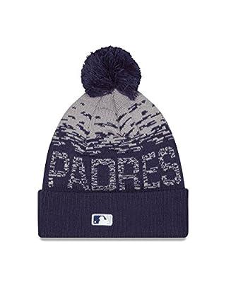 MLB San Diego Padres Headwear, Navy/Grey, One Size