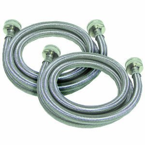 jmf manufacturing stainless steel braided 4 washer fill hoses washers amp. Black Bedroom Furniture Sets. Home Design Ideas