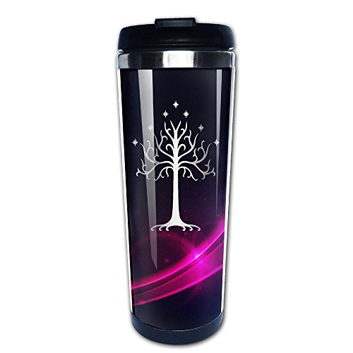 Stainless Steel Tree Of Gondor Platinum Style Tumbler Coffee Mug (Tabletop Screen Printing Press compare prices)