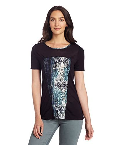 Three Dots Women's Printed Top