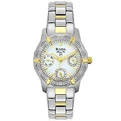 Bulova Women's 98W01 Marine Star Chronograph Watch