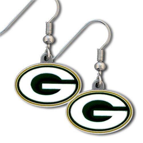 NFL Green Bay Packers Dangle Earrings by Siskiyou