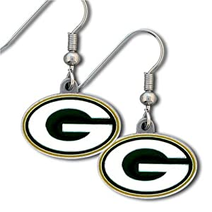 NFL Green Bay Packers Dangle Earrings by Siskiyou Gifts Co, Inc.