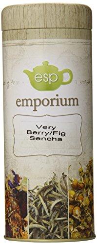 Esp Emporium Green Tea Blend, Very Berry/Fig Sencha, 3.53 Ounce