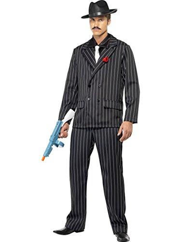Zoot Suit Costume - Medium - Chest Size 38-40 (Zoot Suit Costume Tie)