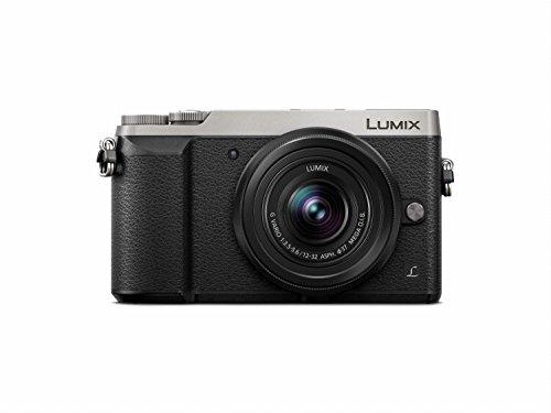 Panasonic LUMIX GX85 4K Mirrorless Interchangeable Lens Camera Kit, 12-32mm Lens, 16 Megapixels, Dual Image Stabilization, Electronic Viewfinder, WiFi - Silver