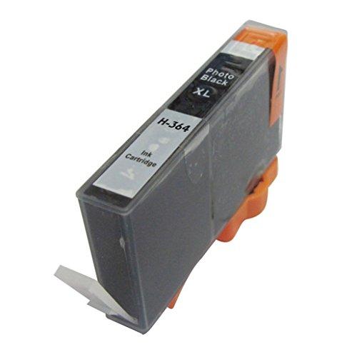 Druckerpatronen 364XLB für HP 364XLB/CN684EE Schwarz mit Chip für Photosmart B8550/B8553/B8558/C6380/C6383/C5324/C5383/C5380/C6324/C5390/C5393 C5388/C5370/C5373/D5468/D5463/D5460/5510/5511/5512/5514/5515/6510 6512/6515/7510/7515/B010a/B109a/B109d/B109f/B110a/B110c/B110e Photosmart Plus B209a/B209c/B210a/B210c Photosmart premium C309a/C309n/g/C310a/C410b Photosmart estation C510a Deskjet 3070A