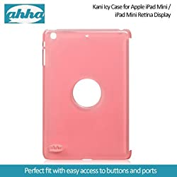 Ahha Kani Icy Case for Apple iPad Mini / iPad Mini Retina Display - Clear Fuchsia (A-YCAPIDMR-0K04)