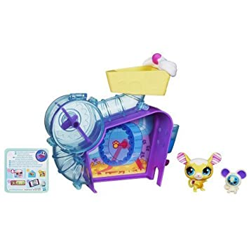 Littlest Pet Shop Sweetie Mouse Playset by Littlest Pet Shop TOY (English Manual)