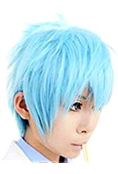 Weixinbuy Boy Short Wig Straight Wigs Hair Cosplay