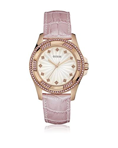 Guess Uhr mit japanischem Mechanikuhrwerk Woman roségold 39.5 mm