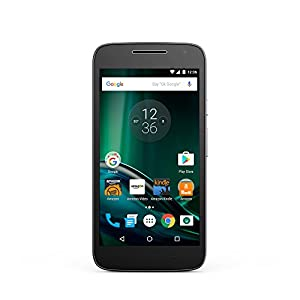 Moto G Play - Black - 16 GB - Unlocked - Prime Exclusive - with Lockscreen Offers & Ads