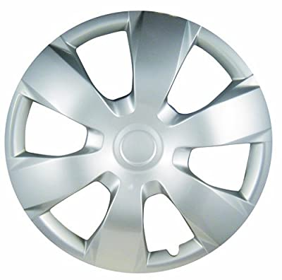 "White Knight WK-1000D, Toyota Camry, 16"" Silver/Lacquer Plastic Wheel Cover, Set of 4"