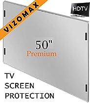50 inch Vizomax TV Screen Protector for LCD, LED & Plasma HDTV