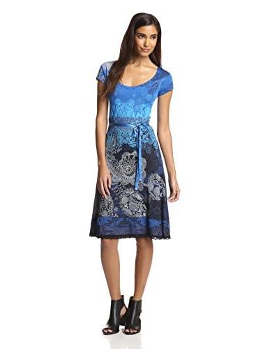 Desigual Women's Ribbon Belt Dress