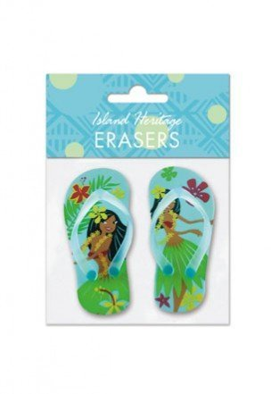 Island Hula Honeys Slippers Erasers - 1