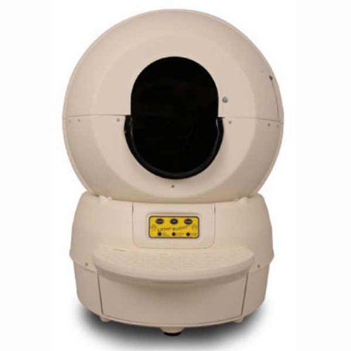 Litter Robot LRII Automatic Self-Cleaning Litter Box, Beige