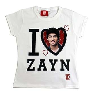 One Direction T-shirt | Fille 1D T-shirt Zayn| 5 - 6 ans