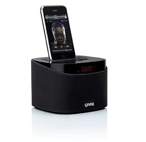 Gear4 AlarmDock Reveal Radiowecker für iPhone und iPod schwarz