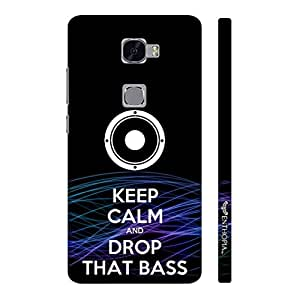 Huawei Mate S DROP THAT BASS designer mobile hard shell case by Enthopia