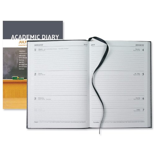 Collins 2010/11 18 Month A5 Academic Week to View Diary - Black
