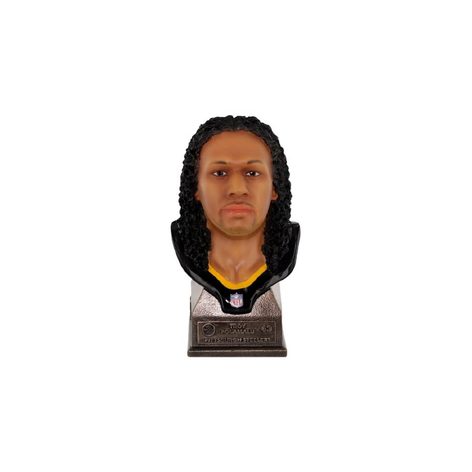 NFL Pittsburgh Steelers Troy Polamalu Player Bust