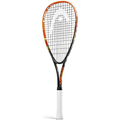 Head Xenon Ti Junior Squash Racquet Black/Orange