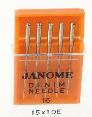 Janome Sewing Machine Needle Denim Size 16