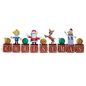 #!Cheap Rudolph the red-nosed reindeer Christmas Blocks