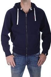 Polo Ralph Lauren Men\'s Full Zip Fleece Hoodie Sweatshirt Small Cruise Navy