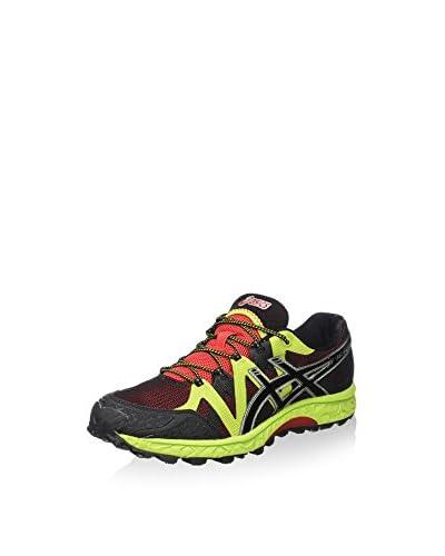 Asics Zapatillas de Running Gel-Fujielite Rojo / Negro / Lima