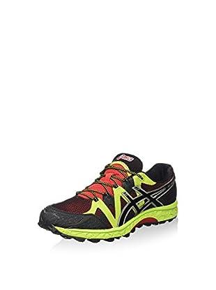 Asics Zapatillas de Running Gel-Fujielite (Rojo / Negro / Lima)