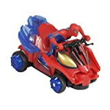 Spiderman 85461 - Giro Mini Quad Amazing Radiocontrol (Silverlit)